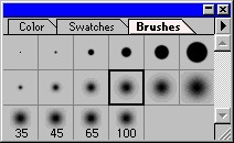 Brush Size Examples